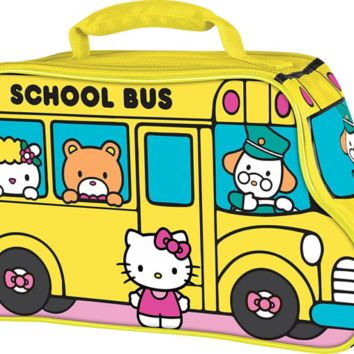 Thermos Novelty Lunch Kit, Hello Kitty School Bus