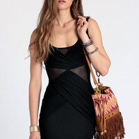 Mysteriously Sexy Dress in Black - $42.00: ThreadSence, Women's Indie & Bohemian Clothing, Dresses, & Accessories