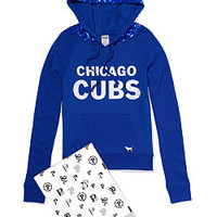 Chicago Cubs Bling Pullover Hoodie - PINK - Victoria's Secret