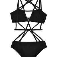 Chromat Black Pentagram Suit