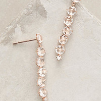 14k Rose Gold Starburst Earrings