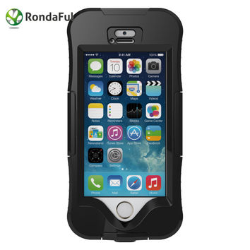 Rondaful For iPhone 5 5s Waterproof Mobile Phone Case IP68 Heavy Duty Underwater Diving Swimming Photo Taking 100% Sealed