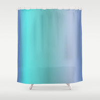"Shower Curtain - Ocean Blues - 71"" by 74"" Home Decor, Bathroom, Bath, Dorm Decor, Girl Decor"