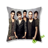 The Wanted Square Pillow Cover