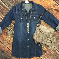 Come Along Denim Tunic
