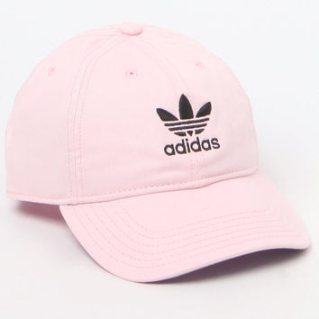 ec34bbea adidas Original Pink and White Strapback Dad Hat at PacSun.com