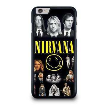 nirvana iphone 6 6s plus case cover  number 1