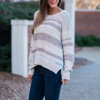 Naturally Yours Sweater, Cream