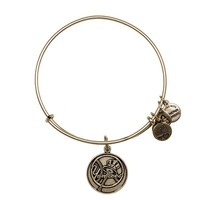 Alex and Ani New York Yankees™ Primary Logo Charm Bangle - Russian Silver
