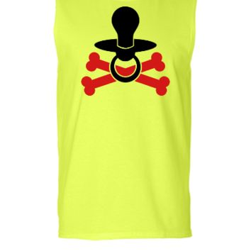 Binky - Pacifier - Baby Soother - Sleeveless T-shirt