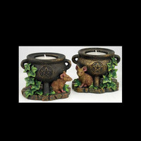 Mouse & Pentagram Tealight Holders