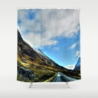 Road Shower Curtain by Haroulita | Society6