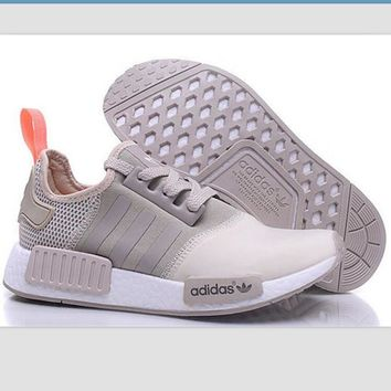 "Women ""Adidas"" NMD Boost Casual Sports Shoes Beige"
