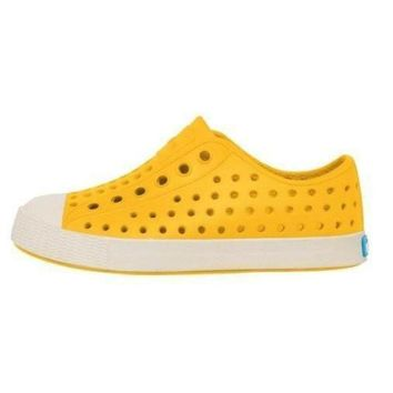 Native Crayon Yellow Shoes