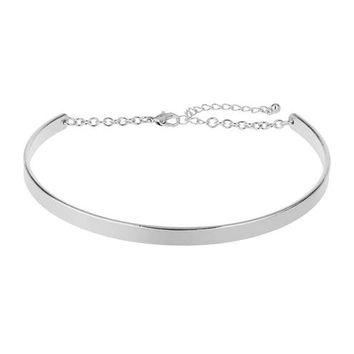 Metal Bar Choker - Party Shop - Apparel