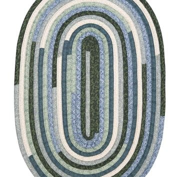 Colonial Mills Quilter's Choice QC20 Seafoam Traditional Area Rug