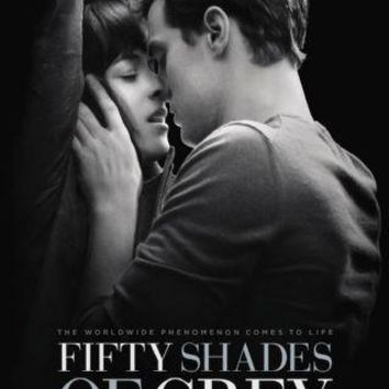 Fifty Shades Of Grey Movie poster Metal Sign Wall Art 8in x 12in