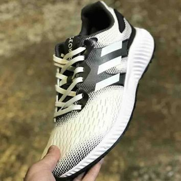 Adidas Aerobounce st m men's and women's tide brand fashion leisure wild fashionable sneakers F-CSXY white+black