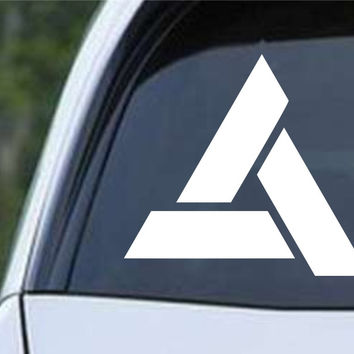 Assassin's Creed Abstergo Logo Die Cut Vinyl Decal Sticker