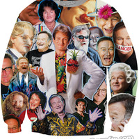 Robin Williams Paparazzi Crewneck Sweatshirt