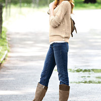 Buckle Riding Boot - VS Collection - Victoria's Secret