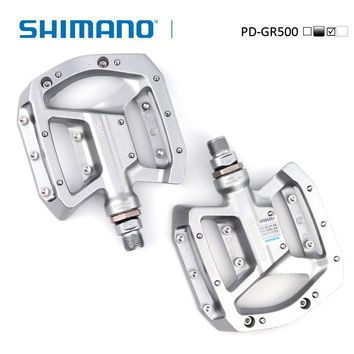 SHIMANO PD-GR500 Flat Pedal Flat MTB/Trail/Enduro/BMX bicycle pedals Shimano genuine goods bike accessories