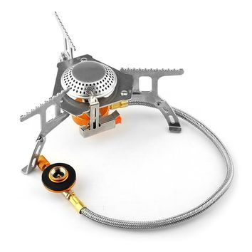 Portable Outdoor Folding Gas Stove 3500W Igniter Camping Gas Stove