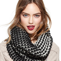 Steve Madden Scarf, Two-Tone Reversible Snood
