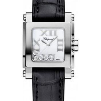 Chopard - Happy Sport - Square Mini - Stainless Steel