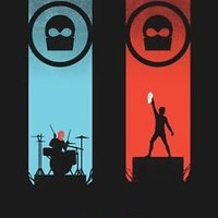 "Twenty One Pilots Music Star Art Fabric poster 32"" x 24"" Decor 24"
