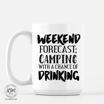 Weekend Forcast - Mug