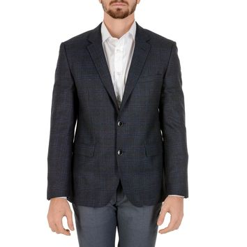 Hugo Boss Mens Jacket Long Sleeves Dark Blue JEFFERY