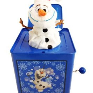 Disney Frozen Olaf Jack-In-The-Box