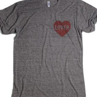 Harry Styles lover shirt-Unisex Athletic Grey T-Shirt