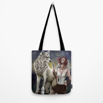 Princess Mononoke Tote Bag by PaintedSoul