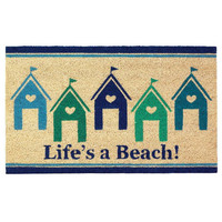 Life's a Beach House Doormat Rug Welcome Mat