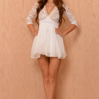 Alter Ego Dress - White