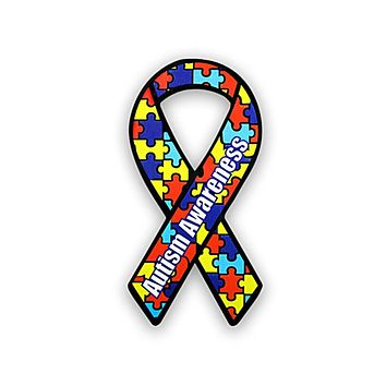 Autism Paper Ribbons for Autism Awareness