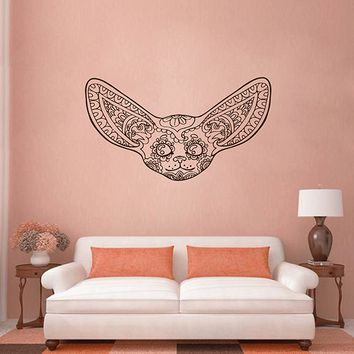 ik2952 Wall Decal Sticker animal fox Fenech living room bedroom