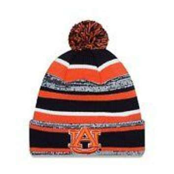 Auburn Tigers NWT Pom Knit NCAA Winter Hat New Era War Eagle new with tags AU