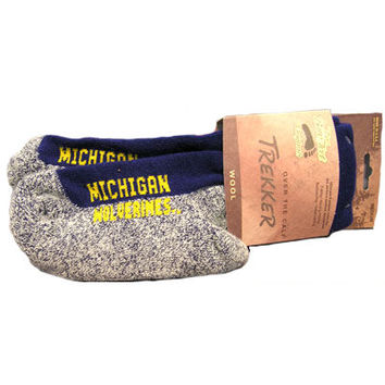 Socks Over The Calf Trekker Michigan Socks