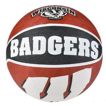 "9.5"" WISCONSIM BADGERS REGULATION BASKETBALL"