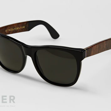retroSUPERfuture Classic Black & Briar Sunglasses