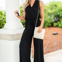 You've Got It All Jumpsuit, Black