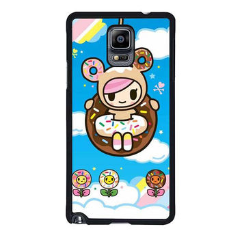 tokidoki donutella and friends samsung galaxy note 4 note 3 cover cases