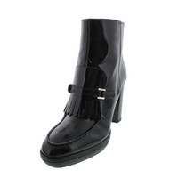 Tod's Womens Leather Heels Ankle Boots