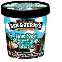 Ben & Jerry's New York Super Fudge Chunk Ice Cream 16oz