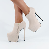 BRAND NEW HIGH HEELS PLATFORMS SHOES BOOTS HEEL PLATFORM SHOE BOOT SIZE 345678