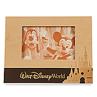 Walt Disney World Wood Photo Frame - Landscape - 4'' x 6''
