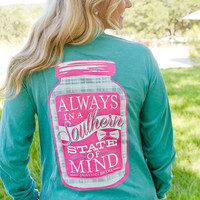 Always In A Southern State Of Mind: Sea Foam - Lavish Boutique